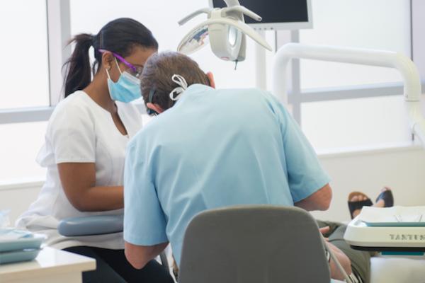 Regular dental check-ups: